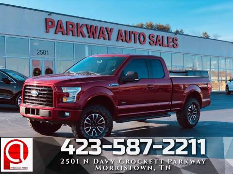 2016 Ford F-150 for sale at Parkway Auto Sales, Inc. in Morristown TN