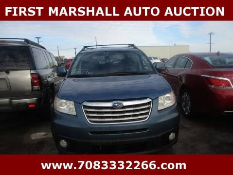 2008 Subaru Tribeca for sale at First Marshall Auto Auction in Harvey IL