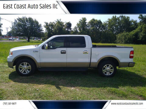 2004 Ford F-150 for sale at East Coast Auto Sales llc in Virginia Beach VA