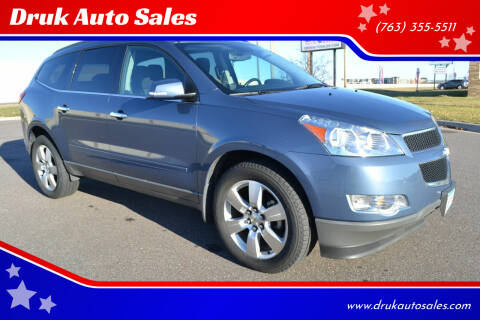 2012 Chevrolet Traverse for sale at Druk Auto Sales in Ramsey MN