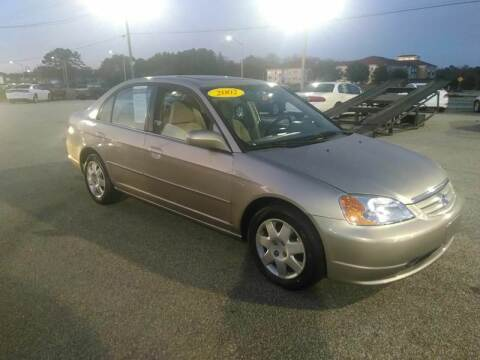 2002 Honda Civic for sale at Kelly & Kelly Supermarket of Cars in Fayetteville NC