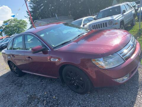 2008 Ford Taurus for sale at Trocci's Auto Sales in West Pittsburg PA