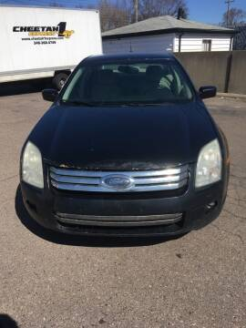 2009 Ford Fusion for sale at Suburban Auto Sales LLC in Madison Heights MI