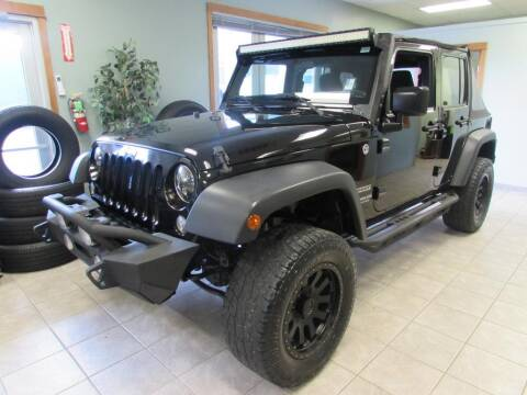 2015 Jeep Wrangler Unlimited for sale at 101 Budget Auto Sales in Coos Bay OR