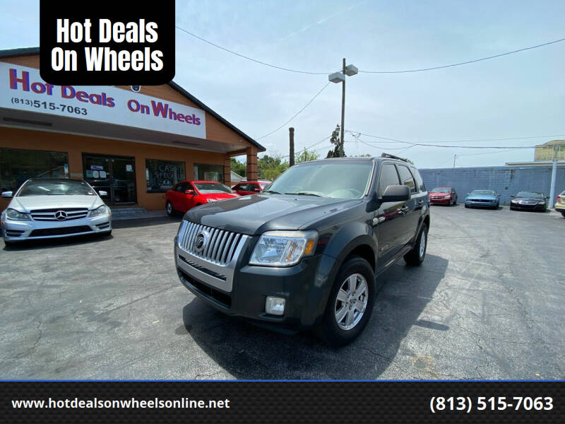 2008 Mercury Mariner for sale at Hot Deals On Wheels in Tampa FL