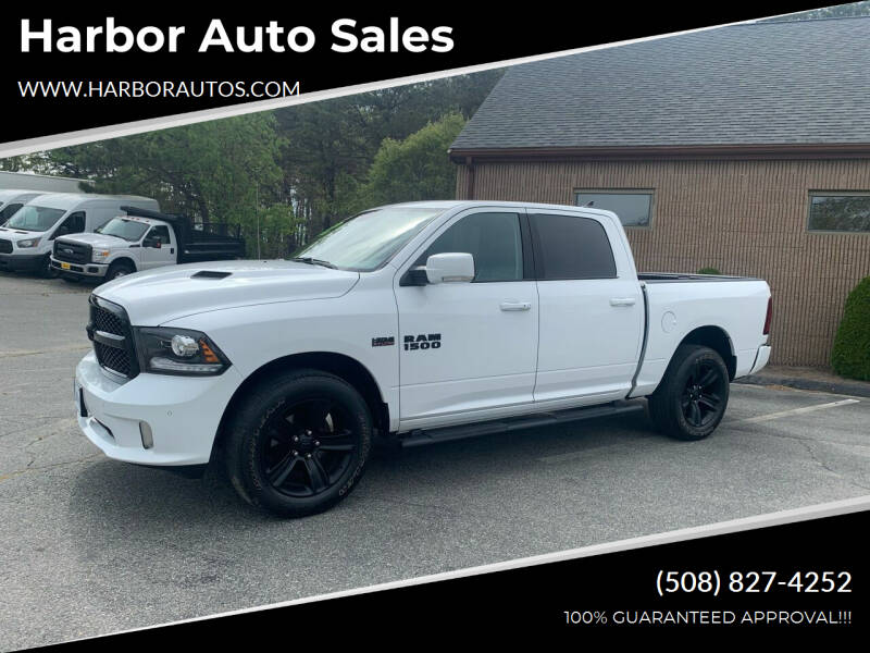 2018 RAM Ram Pickup 1500 for sale at Harbor Auto Sales in Hyannis MA