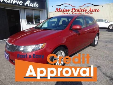 2012 Kia Forte5 for sale at Maine Prairie Auto INC in Saint Cloud MN
