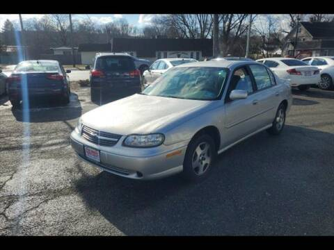 2003 Chevrolet Malibu for sale at Colonial Motors in Mine Hill NJ