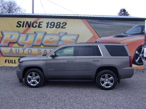 2017 Chevrolet Tahoe for sale at Pyles Auto Sales in Kittanning PA