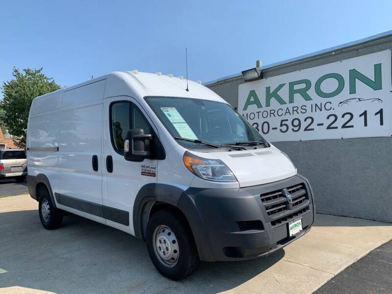 2016 RAM ProMaster Cargo for sale at Akron Motorcars Inc. in Akron OH