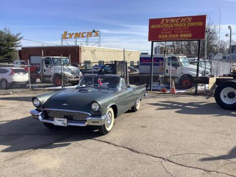 1957 Ford Thunderbird for sale at Lynch's Auto - Cycle - Truck Center in Brockton MA