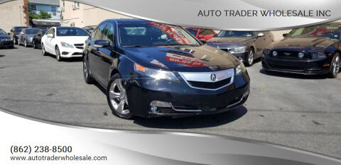 2012 Acura TL for sale at Auto Trader Wholesale Inc in Saddle Brook NJ