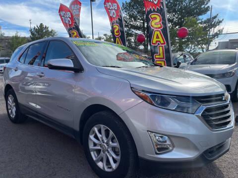 2019 Chevrolet Equinox for sale at Duke City Auto LLC in Gallup NM