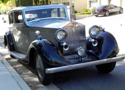 1936 Rolls-Royce Sedan for sale at Classic Car Deals in Cadillac MI