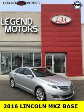 2016 Lincoln MKZ for sale at Legend Motors of Waterford - Legend Motors of Ferndale in Ferndale MI