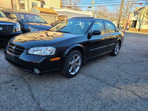 2001 Nissan Maxima for sale at Devaney Auto Sales & Service in East Providence RI