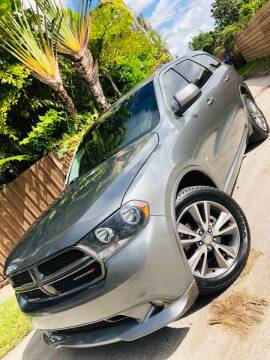 2013 Dodge Durango for sale at IRON CARS in Hollywood FL