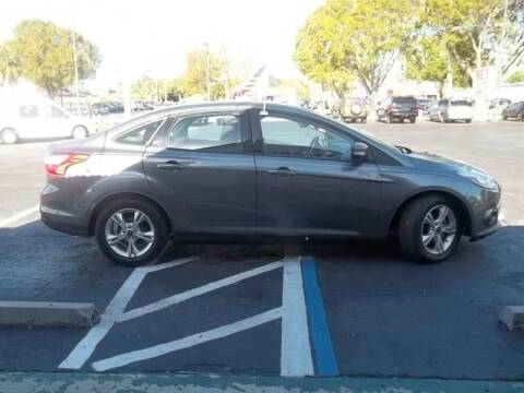 2014 Ford Focus for sale at Jacoby Motors in Fort Myers FL
