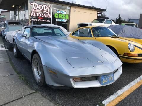 1981 Chevrolet Corvette for sale at Dodi Auto Sales in Monterey CA