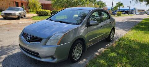 2012 Nissan Sentra for sale at USA BUSINESS SOLUTIONS GROUP in Davie FL