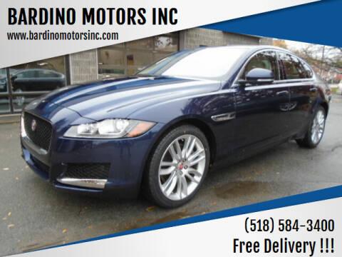 2017 Jaguar XF for sale at BARDINO MOTORS INC in Saratoga Springs NY