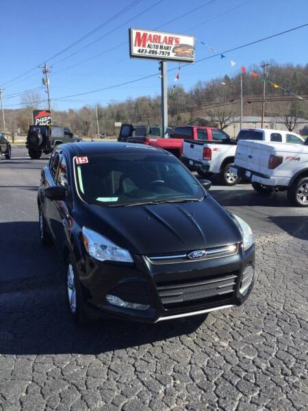 2015 Ford Escape for sale at MARLAR AUTO MART SOUTH in Oneida TN