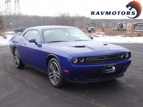 2019 Dodge Challenger for sale at RAVMOTORS in Burnsville MN