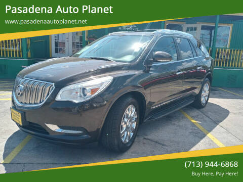 2013 Buick Enclave for sale at Pasadena Auto Planet in Houston TX