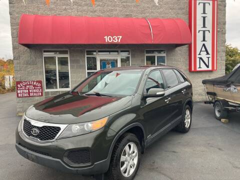 2011 Kia Sorento for sale at Titan Auto Sales LLC in Albany NY