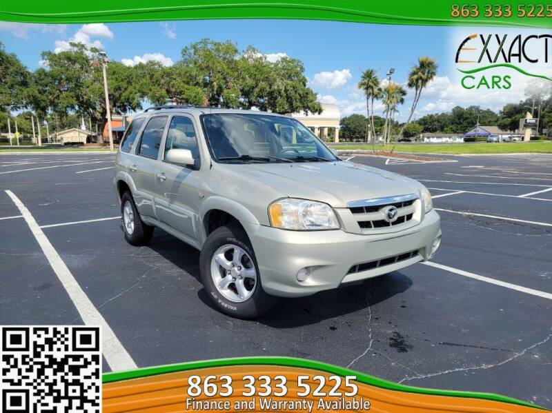 2006 Mazda Tribute for sale at Exxact Cars in Lakeland FL