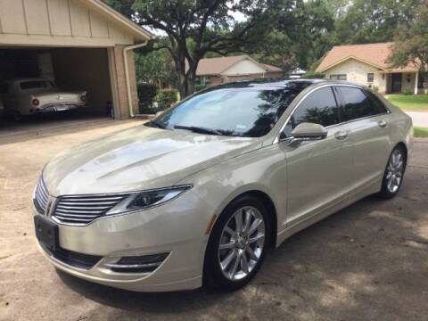 2016 Lincoln MKZ for sale at Classic Car Deals in Cadillac MI