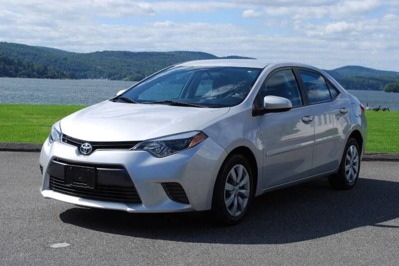 2015 Toyota Corolla for sale at New Milford Motors in New Milford CT