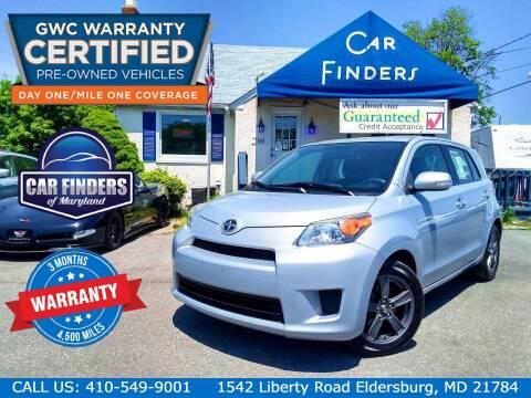 2013 Scion xD for sale at CAR FINDERS OF MARYLAND LLC - Certified Cars in Eldersburg MD
