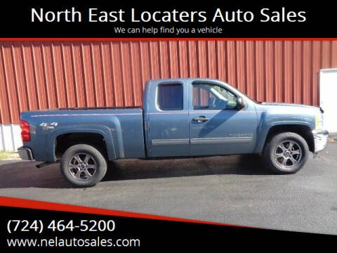 2013 Chevrolet Silverado 1500 for sale at North East Locaters Auto Sales in Indiana PA