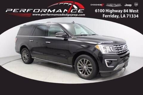 2020 Ford Expedition MAX for sale at Performance Dodge Chrysler Jeep in Ferriday LA