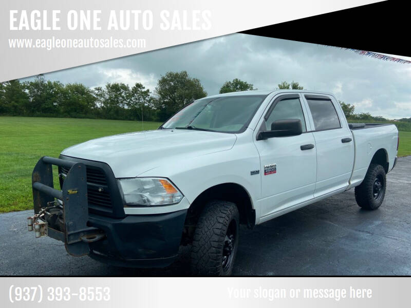 2012 RAM Ram Pickup 2500 for sale at EAGLE ONE AUTO SALES in Leesburg OH