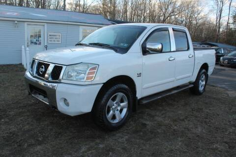 2004 Nissan Titan for sale at Manny's Auto Sales in Winslow NJ