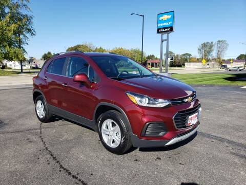 2017 Chevrolet Trax for sale at Krajnik Chevrolet inc in Two Rivers WI