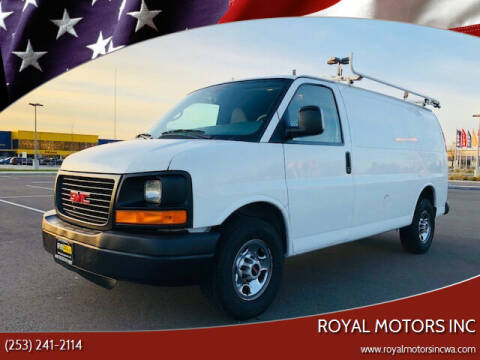 2011 GMC Savana Cargo for sale at Royal Motors Inc in Kent WA