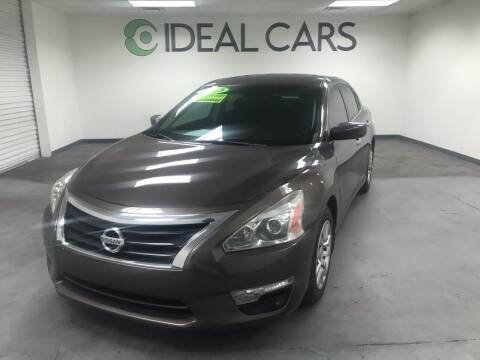 2013 Nissan Altima for sale at Ideal Cars East Mesa in Mesa AZ