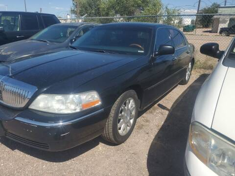 2009 Lincoln Town Car for sale at PYRAMID MOTORS - Fountain Lot in Fountain CO