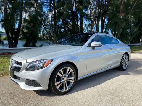2017 Mercedes-Benz C-Class for sale at Import Haven in Davie FL