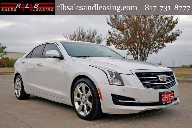 2015 Cadillac ATS for sale at RLB Sales and Leasing in Fort Worth TX