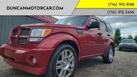 2008 Dodge Nitro for sale at DuncanMotorcar.com in Buffalo NY