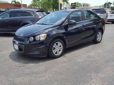 2012 Chevrolet Sonic for sale at AUTOSAVIN in Elmhurst IL