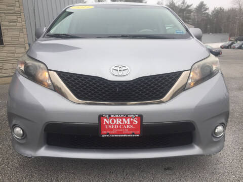 2011 Toyota Sienna for sale at NORM'S USED CARS INC - Trucks By Norm's in Wiscasset ME