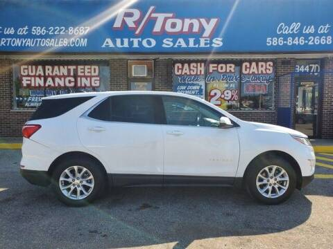 2018 Chevrolet Equinox for sale at R Tony Auto Sales in Clinton Township MI