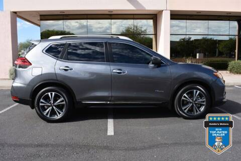 2017 Nissan Rogue Hybrid for sale at GOLDIES MOTORS in Phoenix AZ