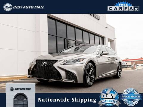 2018 Lexus LS 500 for sale at INDY AUTO MAN in Indianapolis IN