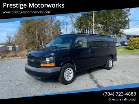 2013 Chevrolet Express Passenger for sale at Prestige Motorworks in Concord NC